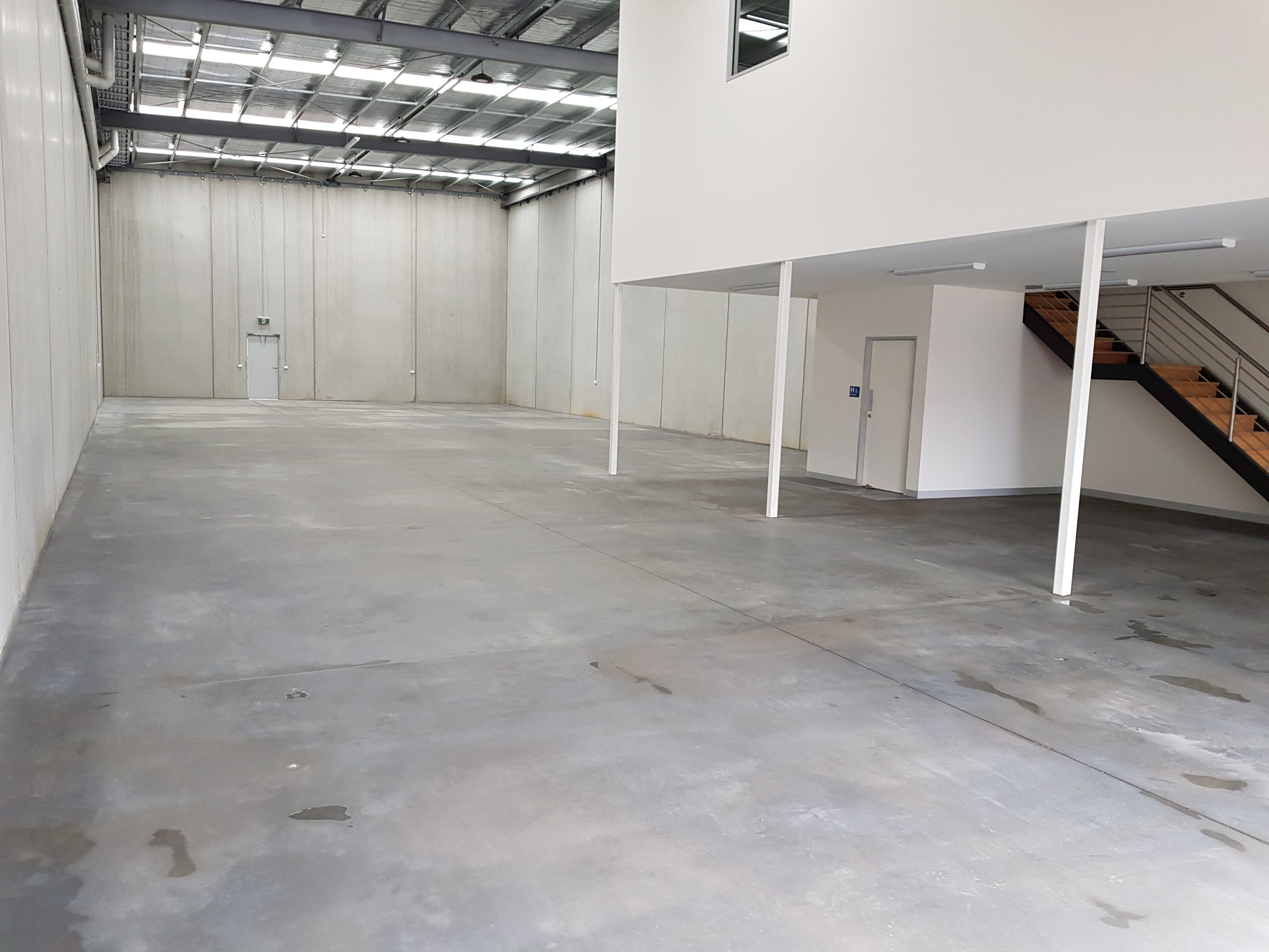 warehouse for acrylic concrete floor sealer