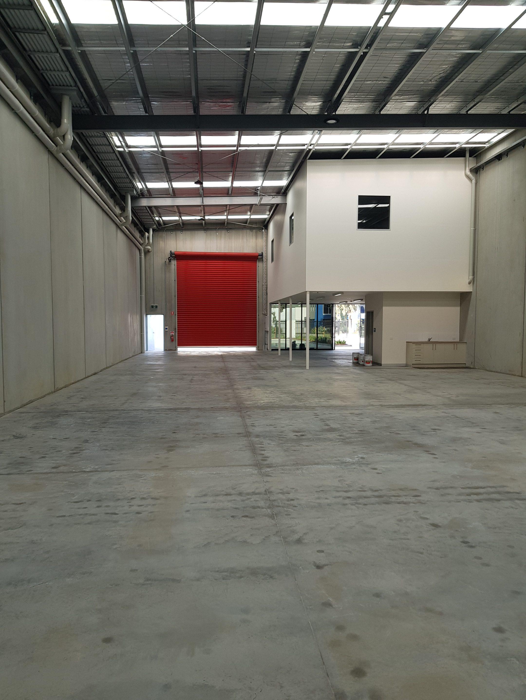 factory floor being sealed