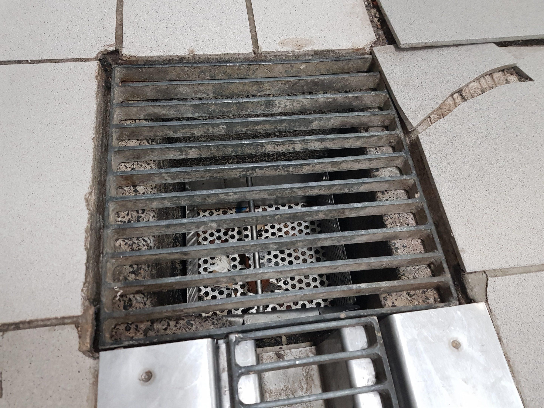 tile floor damage