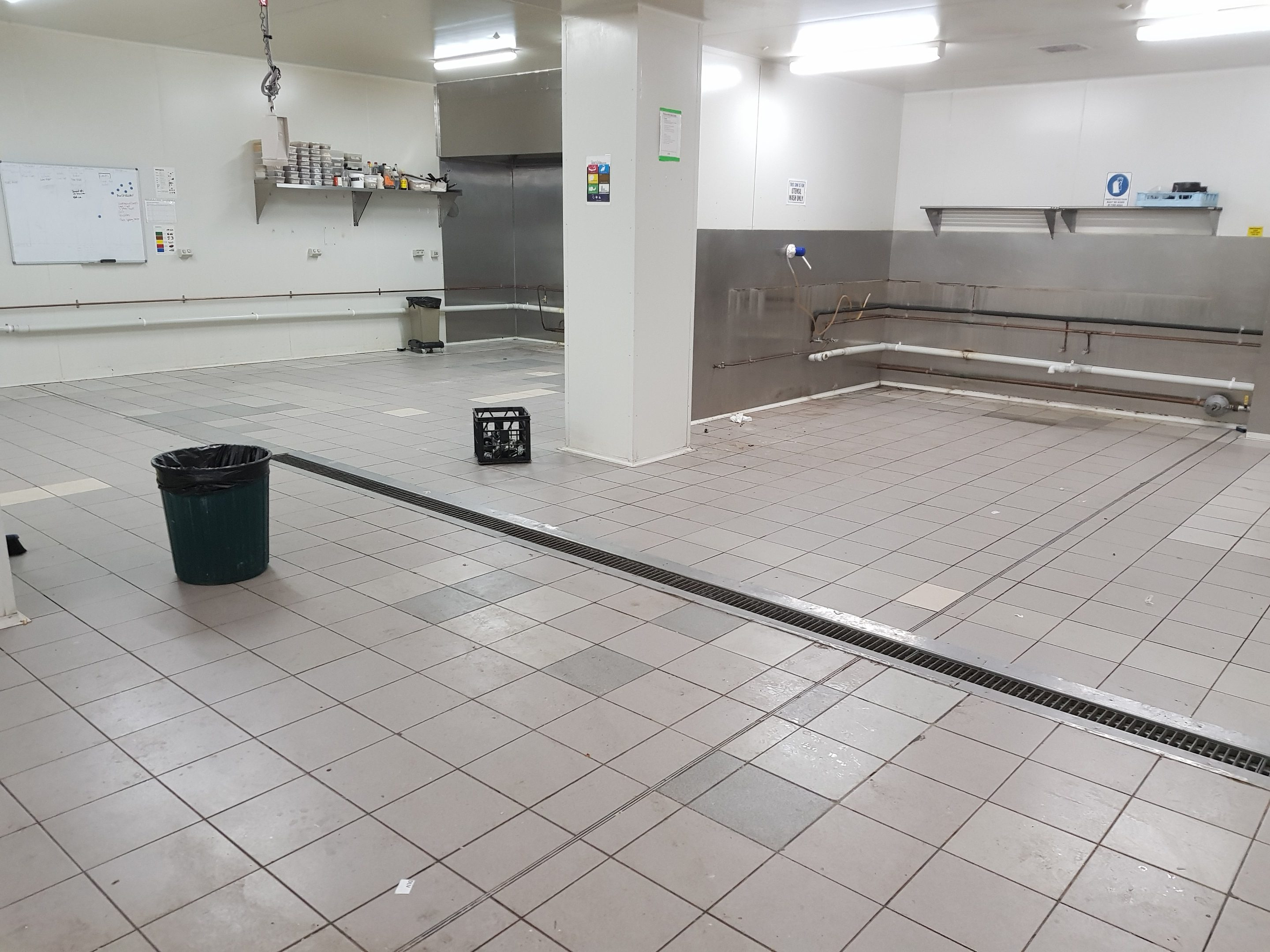 removing tiles from floor