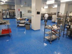 vinyl flake epoxy floor