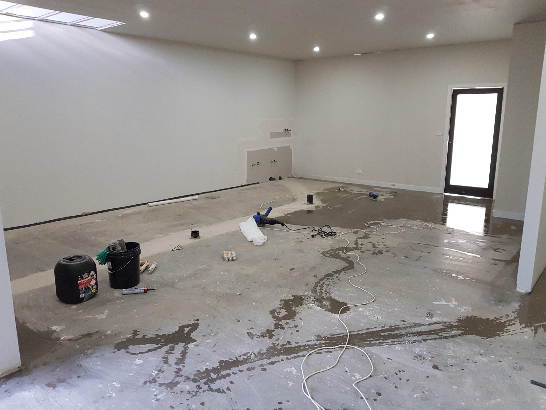 Truganina Pâtisserie Kitchen Floor - Polyurethane Flooring 4