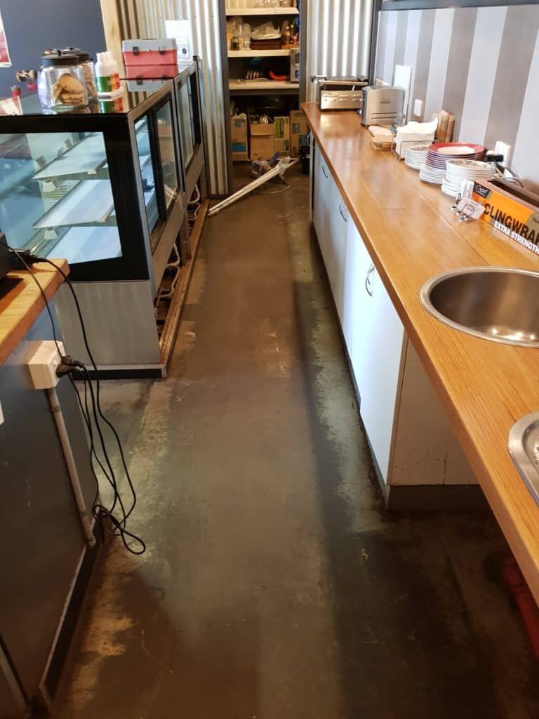 Hawthorn Cafe Commercial Kitchen Floor 4