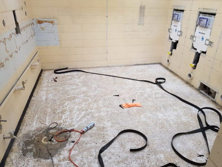 Taylors Lakes School Toilet Flooring 2