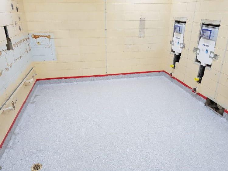 Taylors Lakes School Toilet Flooring 3
