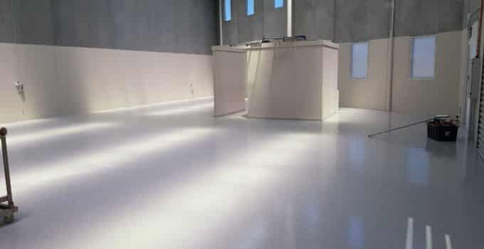 Oakleigh Warehouse Epoxy Floor Coating 1