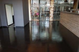 Concrete floor sealer in Melbourne Brewery 18