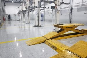 Camberwell Automotive Workshop Epoxy Floor Coating 6