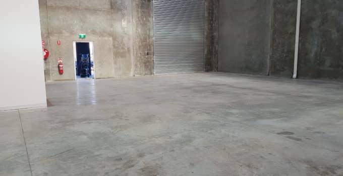 Truganina warehouse floor sealing 1
