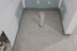 Epoxy flake flooring - Coburg Primary School Toilet Floors Stage 2 5