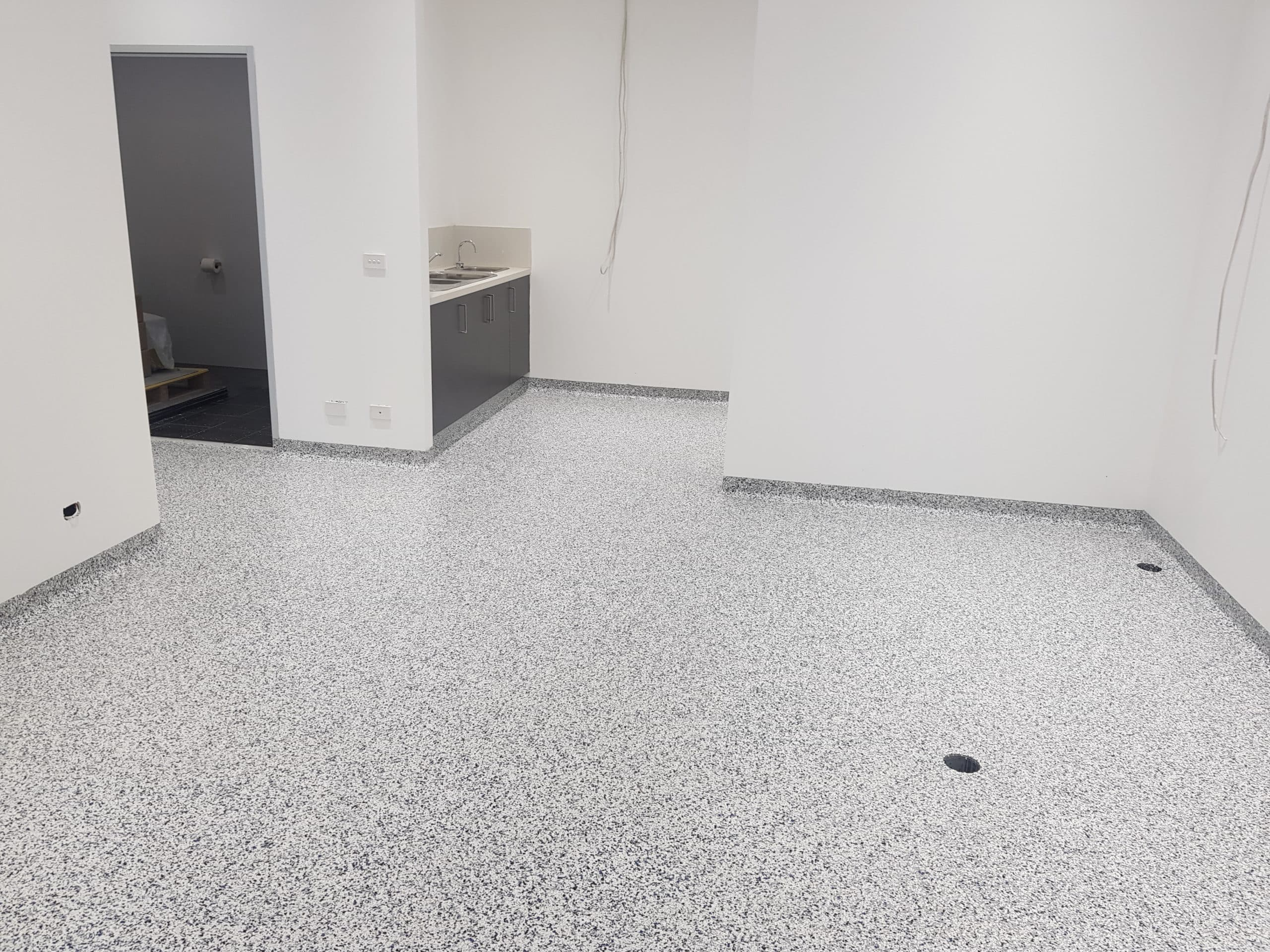 Commercial kitchen gourmet food packing flooring 3
